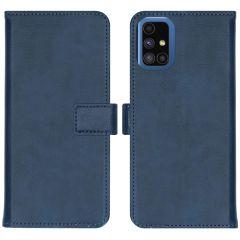 iMoshion Étui de téléphone Luxe Samsung Galaxy M51 - Bleu foncé