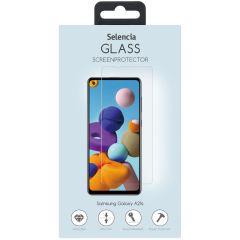 Selencia Protection d'écran en verre durci Samsung Galaxy A21s