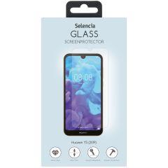 Selencia Protection d'écran en verre durci Huawei Y5 (2019)