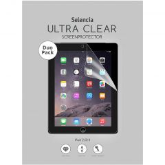 Selencia Protection d'écran Duo Pack Ultra Clear iPad 2 / 3 / 4