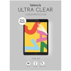 Selencia Protection d'écran Duo Pack iPad 10.2 (2019 / 2020)
