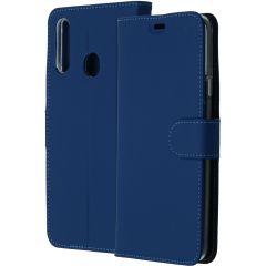Accezz Étui de téléphone Wallet Samsung Galaxy A20s - Bleu foncé