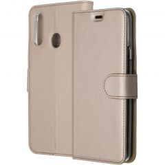 Accezz Étui de téléphone Wallet Samsung Galaxy A20s - Dorée