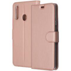 Accezz Étui de téléphone Wallet Galaxy A20s - Rose Champagne