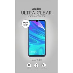Selencia Protection d'écran Duo Pack Ultra Clear Huawei Y5 (2019)