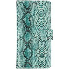 Etui de téléphone portefeuille imprimé de serpent iPhone Xr