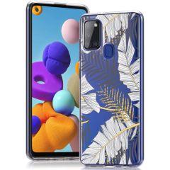 iMoshion Coque Design Samsung Galaxy A21s - Glamour Botanic