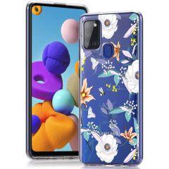 iMoshion Coque Design Samsung Galaxy A21s - English Garden