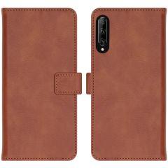 iMoshion Étui de téléphone Luxe Huawei P Smart Pro / Y9s - Brun
