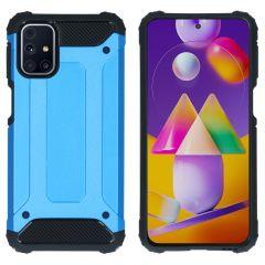 iMoshion Coque Rugged Xtreme Samsung Galaxy M31s - Bleu clair