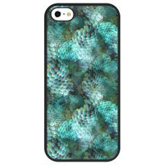 Coque design Color iPhone SE / 5 / 5s - Green Deco
