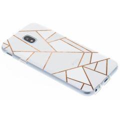 Coque design Samsung Galaxy J3 (2017) - White Graphic