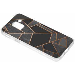 Coque design Samsung Galaxy J6 - Black Graphic