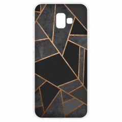 Coque design Samsung Galaxy J6 Plus - Black Graphic