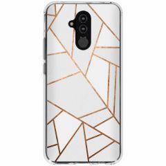 Coque design Huawei Mate 20 Lite - White Graphic