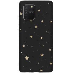 Coque design Color Samsung Galaxy S10 Lite - Gold Stars