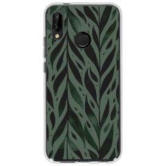 Coque design Huawei P20 Lite - Leaves green