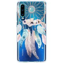 Coque design Huawei P30 - Dreamcatcher Feathers