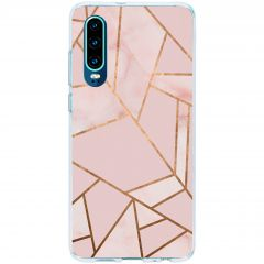 Coque design Huawei P30 - Pink Graphic