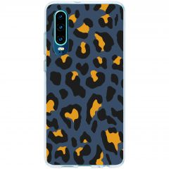 Coque design Huawei P30 - Blue Panther