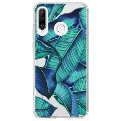 Coque design Huawei P30 Lite - Blue Botanic