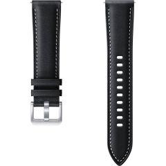 Samsung Bracelet Cuir Galaxy Watch Active 2 / Watch 3 41mm - Noir