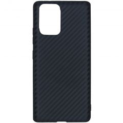 Coque silicone Carbon Samsung Galaxy S10 Lite - Noir