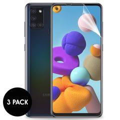 iMoshion Protection d'écran Film 3 pack Samsung Galaxy A21s