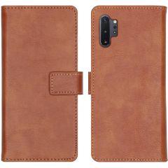 iMoshion Étui de téléphone Luxe Samsung Galaxy Note 10 Plus - Brun