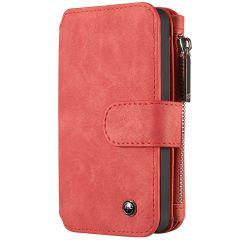 CaseMe Étui luxe 2-en-1 à rabat iPhone 5 / 5s / SE - Rouge