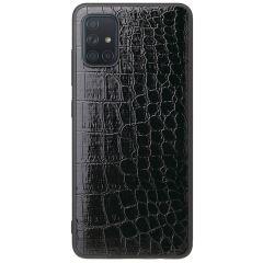 Coque rigide Samsung Galaxy A71 - Crocodile