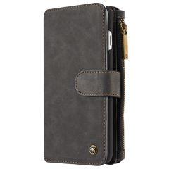 CaseMe Étui luxe 2-en-1 à rabat iPhone 8 Plus / 7 Plus - Noir