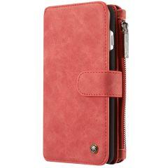 CaseMe Étui luxe 2-en-1 à rabat iPhone 8 Plus / 7 Plus - Rouge