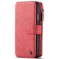 CaseMe Étui luxe 2-en-1 à rabat iPhone 11 - Rouge