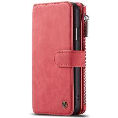 CaseMe Étui luxe 2-en-1 à rabat iPhone 11 Pro - Rouge