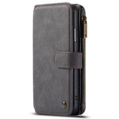CaseMe Étui luxe 2-en-1 à rabat iPhone 11 Pro Max - Noir