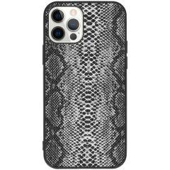 Coque rigide iPhone 12 (Pro) - Snake