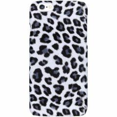 Coque au motif léopard iPhone 6 / 6s - Blanc