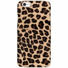 Coque au motif léopard iPhone 6 / 6s - Brun