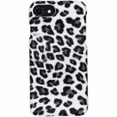 Coque au motif léopard iPhone SE (2020) / 8 / 7 - Blanc