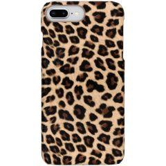 Coque au motif léopard iPhone 8 Plus / 7 Plus - Brun
