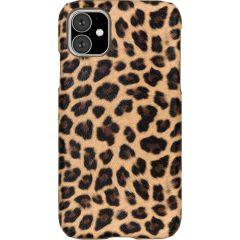 Coque au motif léopard iPhone 11 - Brun