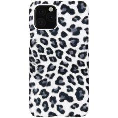Coque au motif léopard iPhone 11 Pro - Blanc