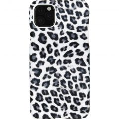 Coque au motif léopard iPhone 11 Pro Max - Blanc