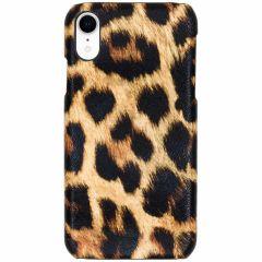 Coque au motif léopard iPhone Xr - Brun