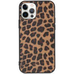 Coque rigide iPhone 12 (Pro) - Leopard
