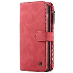 CaseMe Étui luxe 2-en-1 à rabat Samsung Galaxy S10 Plus- Rouge