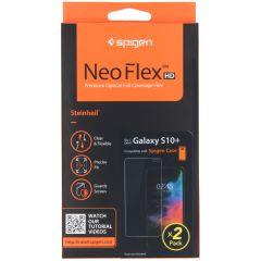 Spigen Protection d'écran Neo Flex Duo Pack Samsung Galaxy S10 Plus
