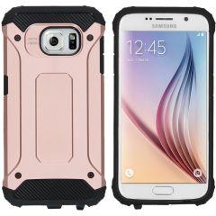 iMoshion Coque Rugged Xtreme Samsung Galaxy S6 - Rose Champagne