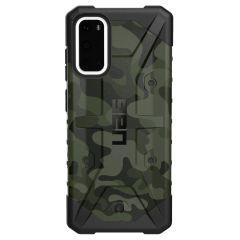UAG Coque Pathfinder Samsung Galaxy S20 - Camo Forest Black